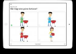 Therapiebuch Farben Aufgaben Bilder