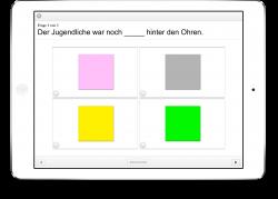 Therapiebuch Farben Aufgaben Idiom