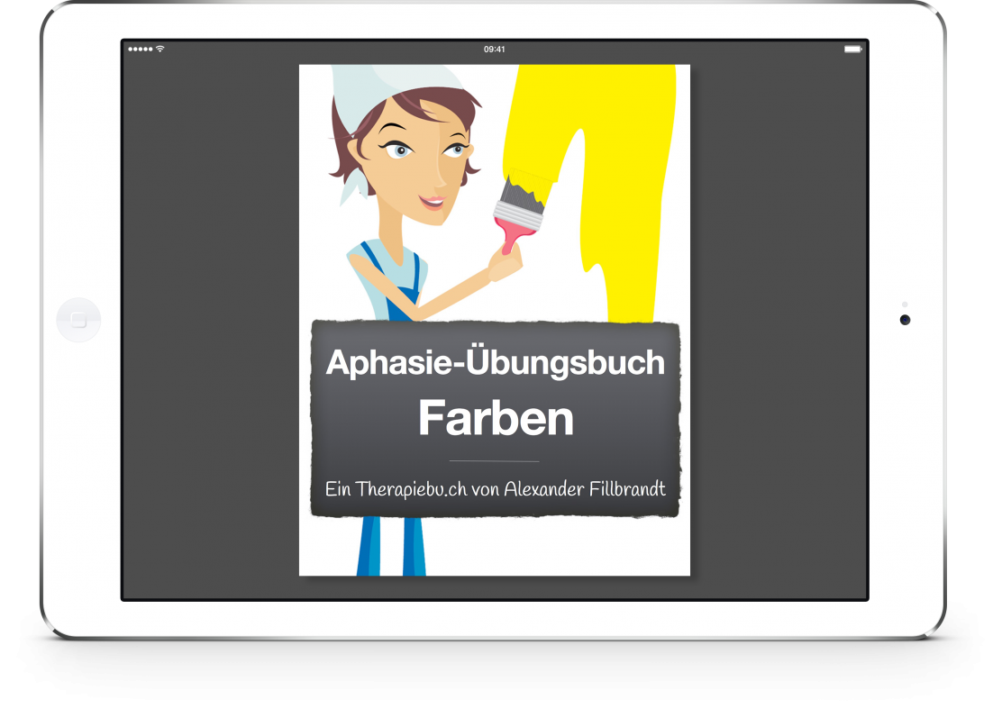 Therapiebuch Farben Cover