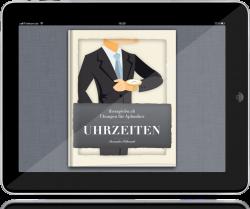 """Therapiebuch """"Uhrzeiten"""" - Cover"""